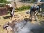 Le feu à l'œuvre, les fours primitifs