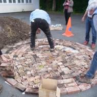 1-un lit de briques de cheminées